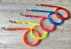 5 x BioThane® Double Ended Leads Bundle